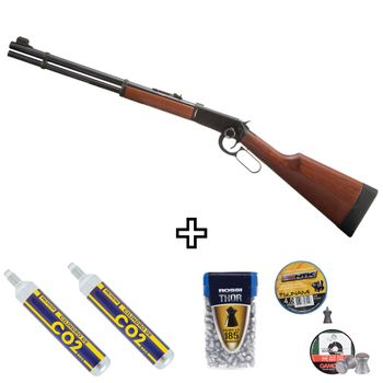 kit-carabina-lever-action-oxidada-co2-chumbinho-4-5mm